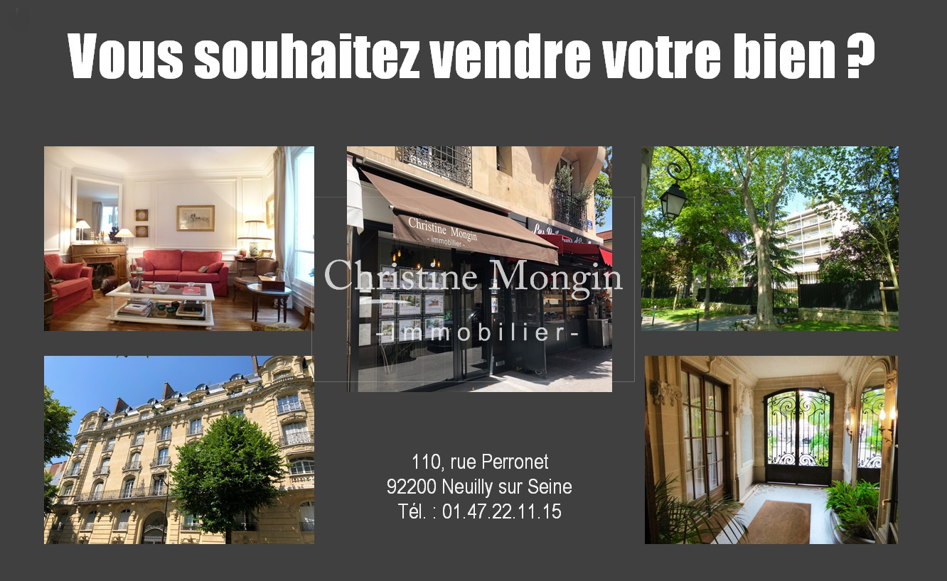agence immobiliere 110 rue perronet neuilly